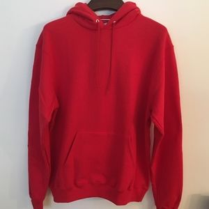 NEW Red Champion Pullover Hoodie, Large